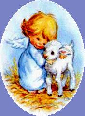 aniolek z owieczka